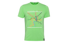 Chillaz Men&#039;s T-Shirt Map neon green